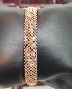 دستبند نقره زنانه مدل پرنس ALt-A2522-تصویر 5