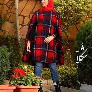 شنل پشمی پاییزه زمستانه شکلا-تصویر 4