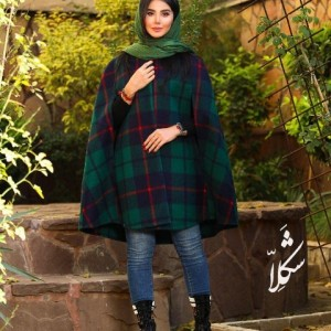 شنل پشمی پاییزه زمستانه شکلا-تصویر 2