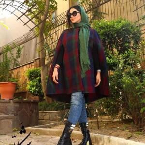 شنل پشمی پاییزه زمستانه شکلا-تصویر 3