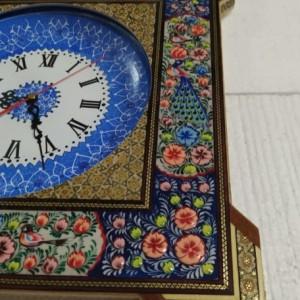 ساعت دیواری خاتم کاری-تصویر 3