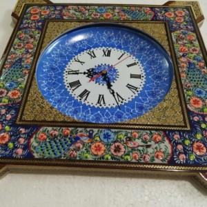 ساعت دیواری خاتم کاری-تصویر 2