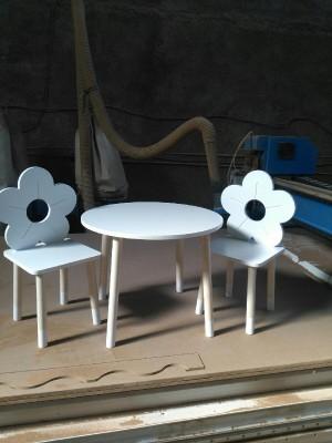 میز صندلی طرح گل-تصویر 5