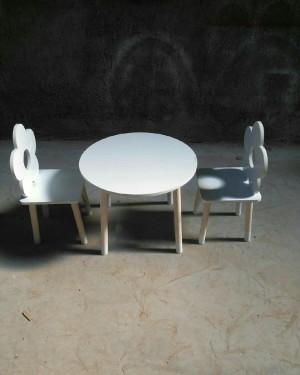 میز صندلی طرح گل-تصویر 2