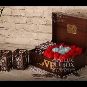 جعبه کادو جعبه چوبی لوکس باکس کد LB270-تصویر 2