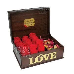 جعبه کادو جعبه چوبی لوکس باکس کد LB270-تصویر 3