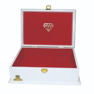 جعبه کادو ولنتاین هدیه باکس گل چوبی لوکس باکس کد LB272-تصویر 4