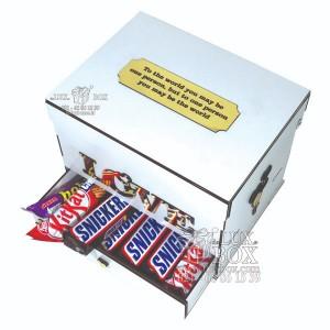 جعبه کادو جعبه چوبی لوکس باکس مدل عشق کد LB262-تصویر 3
