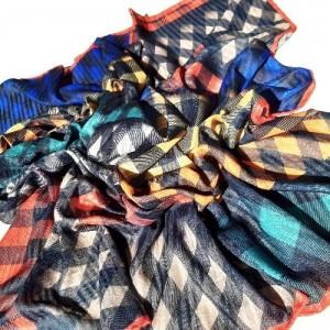 ست کیف و روسری بزرگ نخی درجه یک-تصویر 2