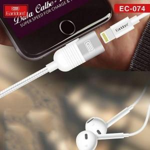 کابل تبدیل USB به لایتنینگ ارلدام مدل Ec-074 طول1متر-تصویر 3