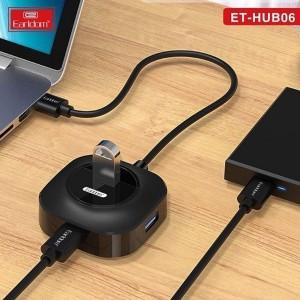 مبدل هاب یو اس بی و شارژر Earldom socket supports 4 USB   HUB-06-تصویر 4