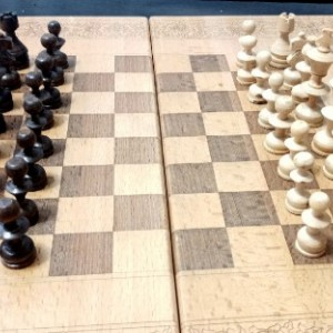 تخته نرد + صفحه شطرنج-تصویر 2