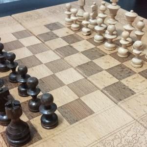 تخته نرد + صفحه شطرنج