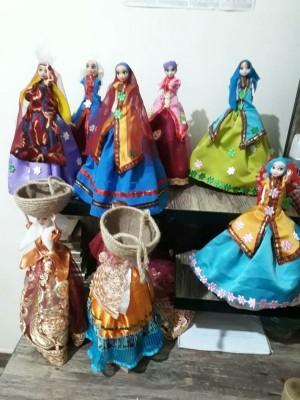عروسک سنتی دست ساز