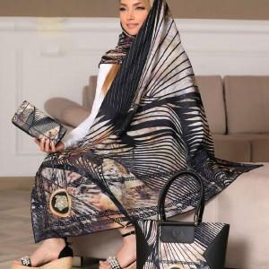 ست ۳ تیکه کیف و روسری عیدانه