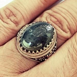 انگشتر حدید ع علی-تصویر 3