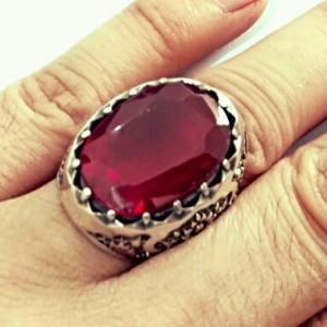 انگشتر فاخر یاقوت سرخ استثنایی و سلطنتی-تصویر 3