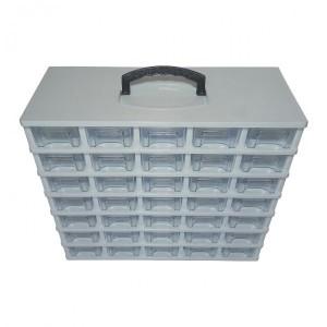 جعبه کشویی قطعات سایز کوچک ۷ طبقه