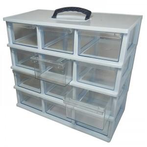 جعبه کشویی قطعات سایز نسبتا بزرگ ۴ طبقه-تصویر 3