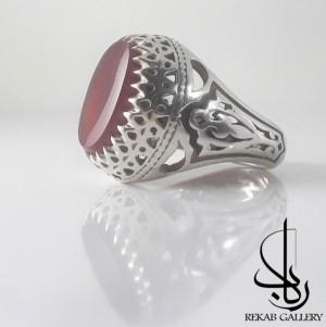 انگشتر نقره مردانه