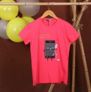 تی شرت طرح موبایل