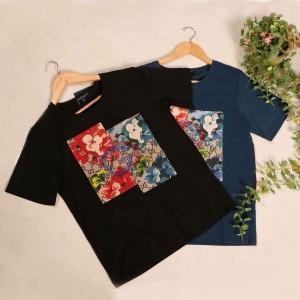 تی شرت طرح گل-تصویر 2