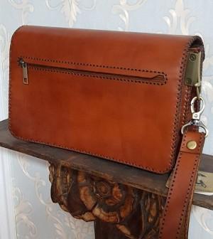 کیف مدارک مردانه ، چرم طبیعی تمام دست دوز-تصویر 5