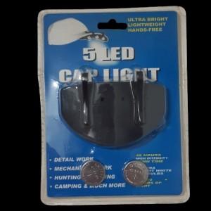 چراغ قوه LED کلاهی کلاه کپ هدلایت-تصویر 5
