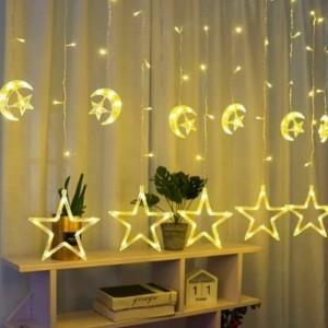 ریسه آویز ماه و ستاره