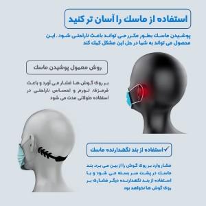 گیره نگهدارنده بند ماسک-تصویر 2