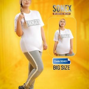 تیشرت شلوار سایز بزرگ-تصویر 3