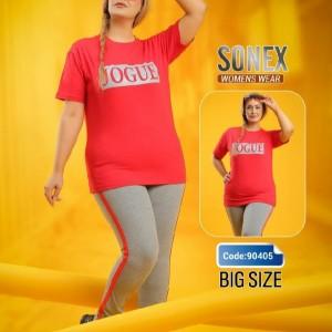 تیشرت شلوار سایز بزرگ-تصویر 2