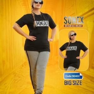 تیشرت شلوار سایز بزرگ-تصویر 5