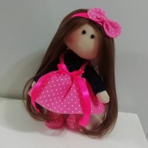 عروسک روسی لباس صورتی-تصویر 2