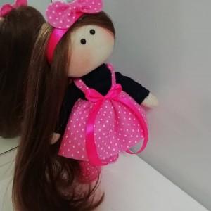 عروسک روسی لباس صورتی-تصویر 4