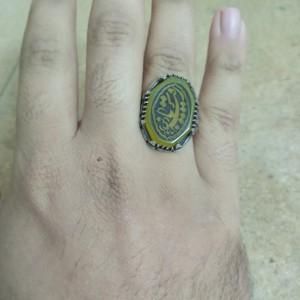 انگشتر عقیق زرد-تصویر 2