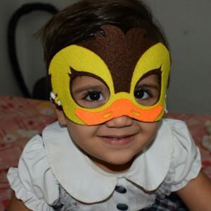 صورتک اردک و جوجه طلایی