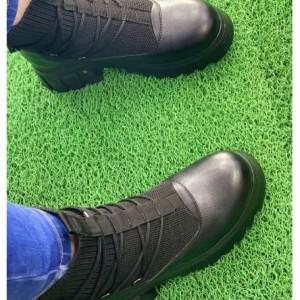 نیم بوت جورابی زنانه-تصویر 3