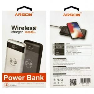 پاور بانک بی سیم آرسون مدل AN-W10 ظرفیت 10000میلی آمپر ساعت-تصویر 2