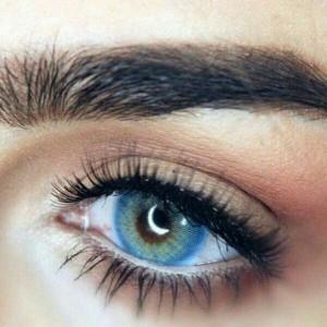 لنز رنگی سالیانه لومینوس رنگ آبی