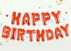 بادکنک فویلی Happy Birthday-تصویر 5