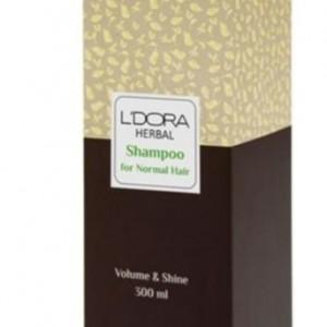 شامپو گیاهی مناسب موهای خشک و آسیب دیده لدروا هربال 300 میلیلیتر-تصویر 3