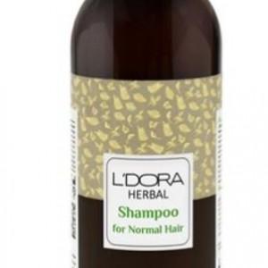 شامپو گیاهی مناسب موهای خشک و آسیب دیده لدروا هربال 300 میلیلیتر