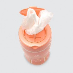 دستمال مرطوب آرایش پاکن استوانه ای (۷۰ عددی)-تصویر 2
