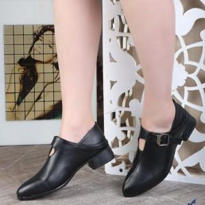 کفش کلاسیک چرم دولایه زیره پیو شیکBa-تصویر 2