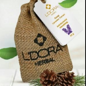 صابون گیاهی حاوی عصاره و گیاه اسطوخودوس لدورا هربال 70 گرمی
