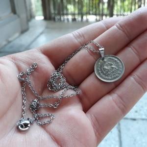 گردنبند سکه ای ( یک ریالی )-تصویر 4
