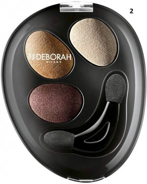سایه چشم دبورا های تک میلانو   Deborah Milano Trio Hi-Tech Eyeshadow-تصویر 3