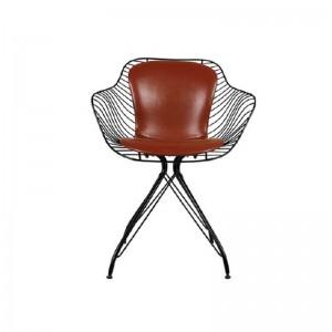 صندلی رستورانی پایه ثابت کوره ای مدل فلورنس استیل هامون-تصویر 2