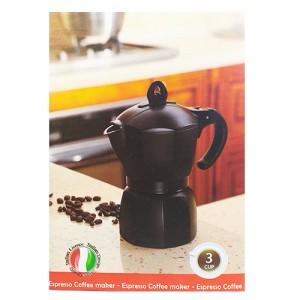 قهوه ساز جنوا 3 کاپ مدل Black-تصویر 4